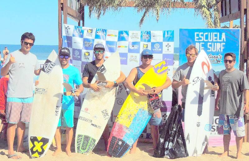 Martín Passeri se consagró campeón del Goro's Beach Pro 2015