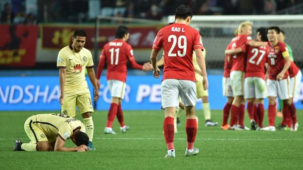 Sorpresa: Guangzhou eliminó al América y jugará contra Barcelona en el Mundial de Clubes