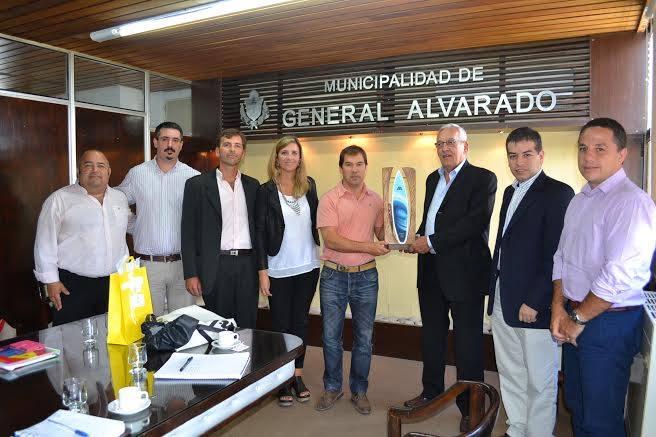 Miramar: El Intendente Dr. Di Cesare se reunió con representantes holandeses