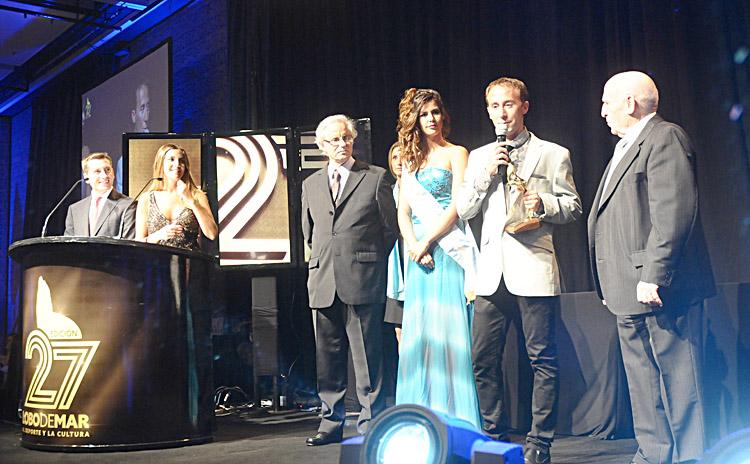 Mastromarino ganó el Lobo de Mar de Oro y el miramarense De Andrade se quedó con su terna