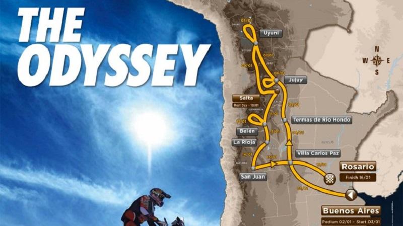 Rally Dakar 2016: El recorrido día por día