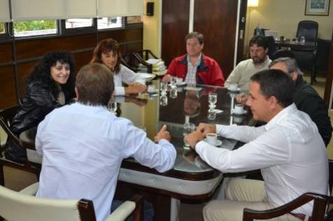 El intendente Di Cesare se reunió con concejales de diferentes bloques