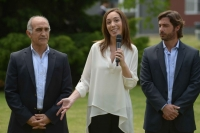 Vidal presentó su gabinete, garantizó el pago de sueldos y aguinaldo y el diálogo con los docentes