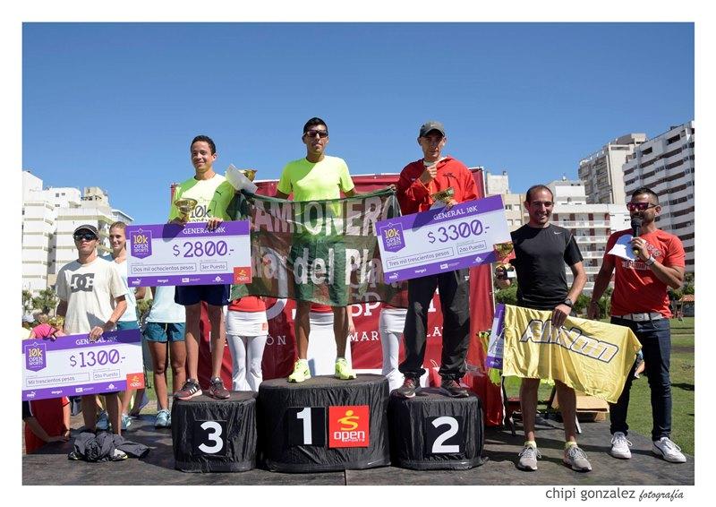 Triunfos de Cichilitti y Borelli en los 10K de Open Sports