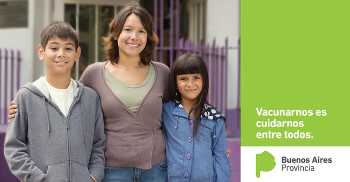 Lanza la Provincia plan de vacunación gratuito para niños en edad escolar y embarazadas