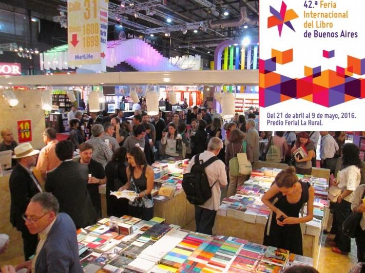 General Alvarado en la 42° Feria Internacional del Libro