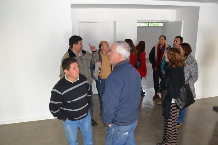 Miramar: El bloque del FR visito el edificio del ISFDyT N°81