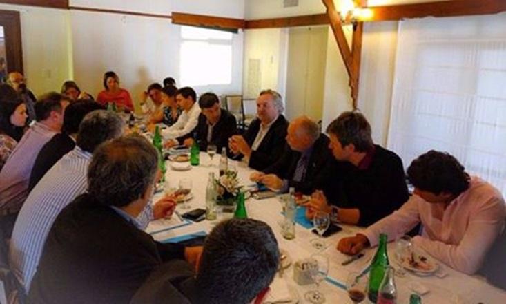Mar del Plata: Reunión con el nuevo Ministro Bonaerense de Producción
