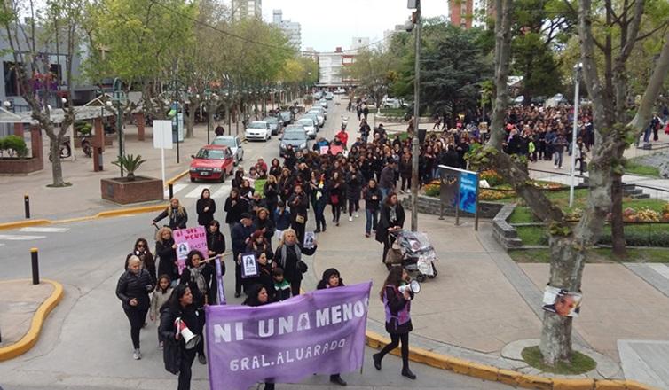 Miramar: Se realizó la Marcha #niunamenos