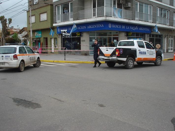 Miramar: Indagaron a los detenidos por la entradera bancaria