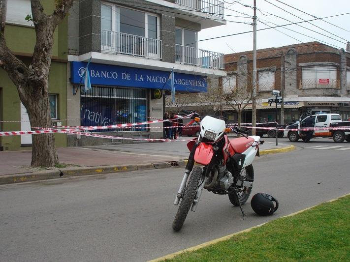 Entradera bancaria en Miramar: Intentan asaltar a conocido comerciante y fue herido de bala en una de sus piernas