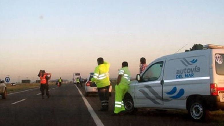 Ruta 2: Cinco heridos en un choque en cadena a la altura de Lezama