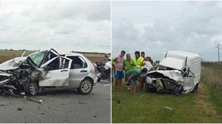 Trágico accidente en la ruta 11: un muerto y cuatro heridos