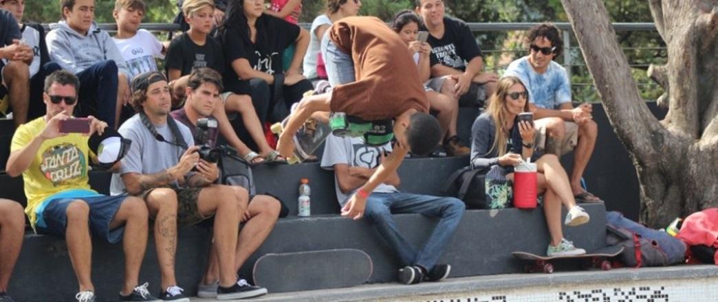 El Skate le puso color al Bowl de Miramar