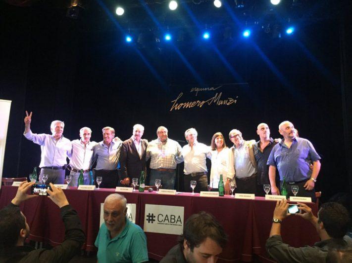 Se lanzó Alberto Fernández: convocatoria a la unidad y palos a Lousteau
