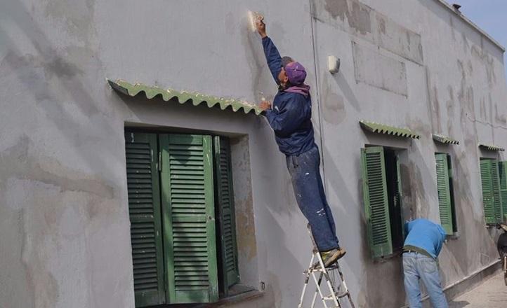 Miramar: Remodelan el Hogar de Ancianos con fondos municipales