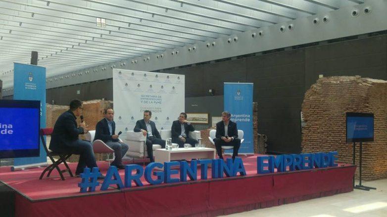 CABA: el jefe comunal, Germán Di Cesare estuvo presente en Argentina Emprende