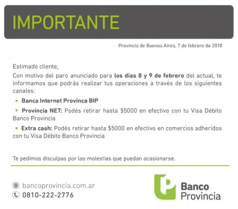 Mañana viernes no habrá bancos en Tucumán