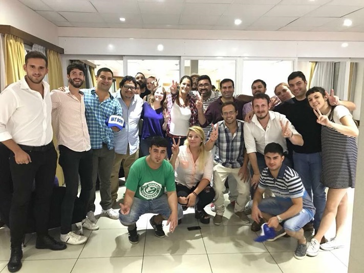 Jóvenes peronistas se reunierón en Mar del Plata en busca de la unidad