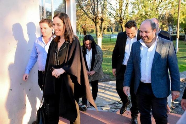 Vidal confirmó que la Nación terminará las obras pendientes pero no comenzará nuevas