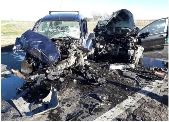 Otamendi: Un muerto en un choque frontal en la ruta 88