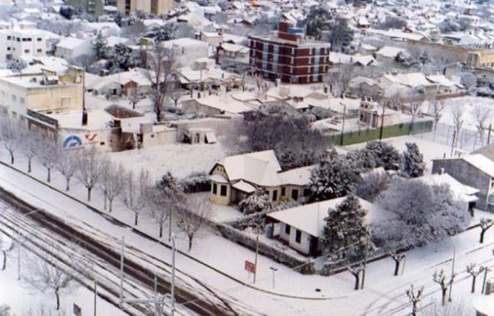 Miramar: 1° de Agosto de 1991: A 29 años de la histórica nevada