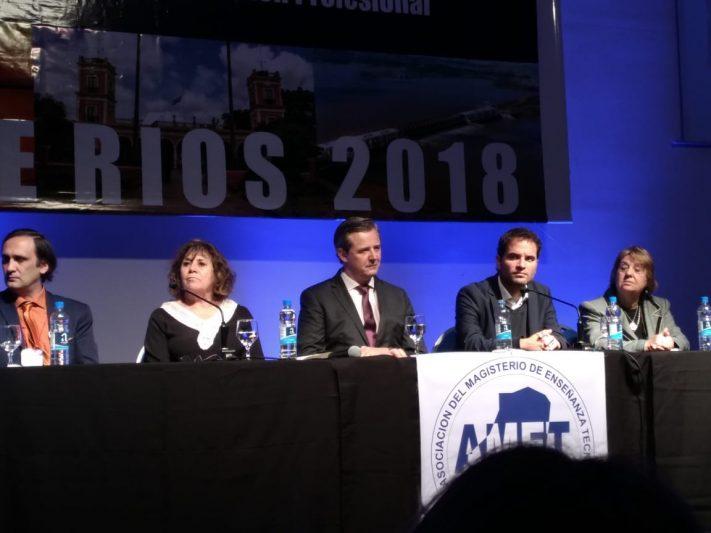 El INET presente en encuentro de Educación Técnica en Entre Ríos
