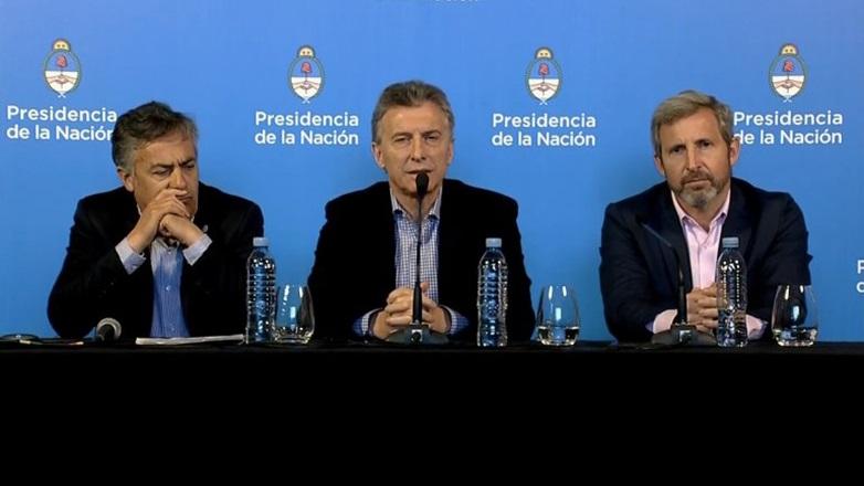"""Macri: """"El Presupuesto y el nuevo acuerdo con el FMI nos van a dar tranquilidad"""""""