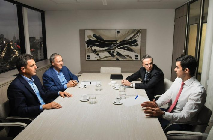 Massa, Urtubey, Pichetto y Schiaretti con la mira puesta en el 2019