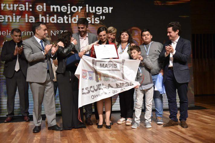 """Docentes bonaerenses ganaron el premio a """"Maestros Argentinos 2018"""""""