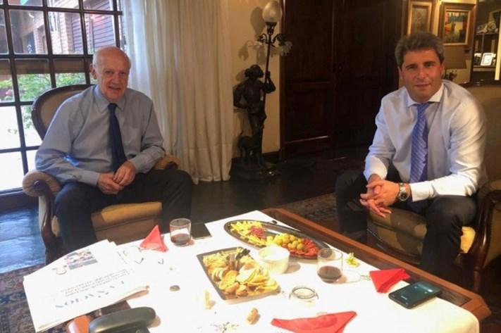 Sergio Uñac: «No sería un disparate ser el vice de Lavagna»