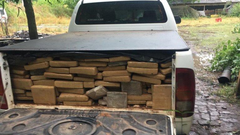 Secuestraron más de mil kilos de marihuana que iba a ser comercializada en la Costa Atlántica