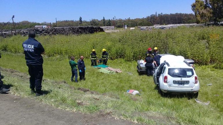 Ruta 2: murieron dos mujeres en un accidente