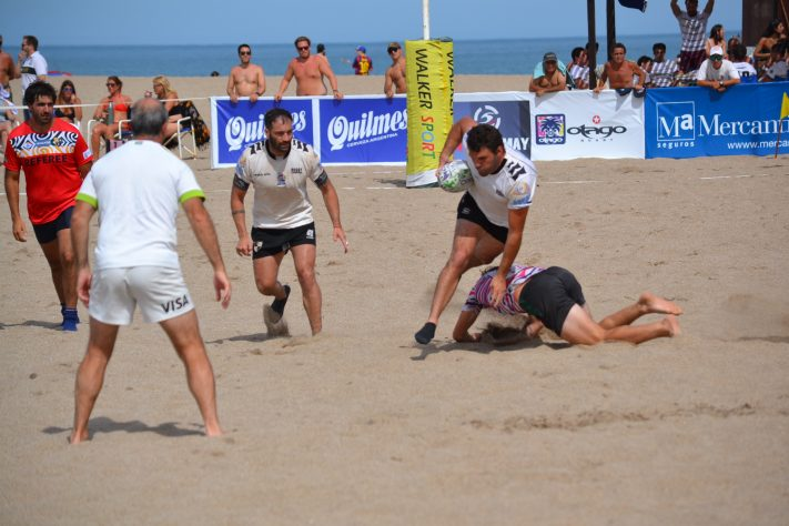 Miramar: se llevó a cabo el XV Seven de Rugby Playero