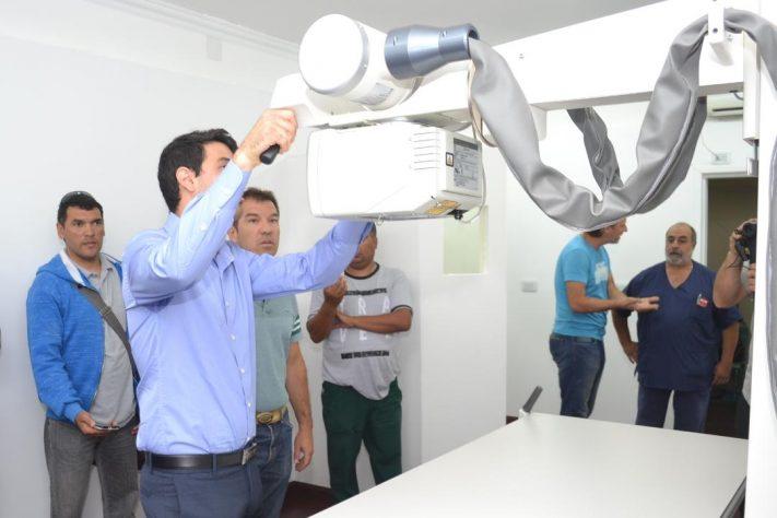 Miramar: se incorporó  al Hospital Municipal equipamiento Radiológico de última generación