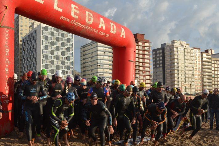 Con un éxito rotundo realizó en Miramar la «Semana Internacional del Triatlón»