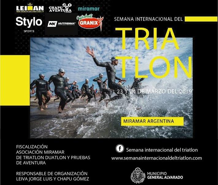 Miramar será sede de la Semana Internacional del Triatlon