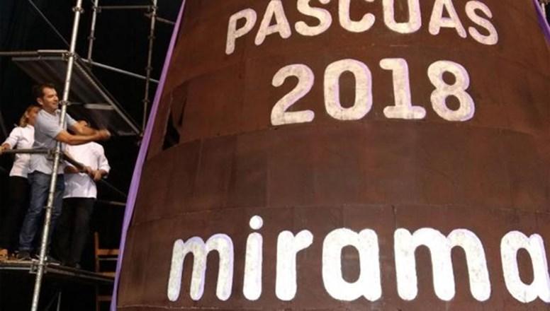 Miramar va por el récord: prepara el huevo de Pascua más grande del mundo