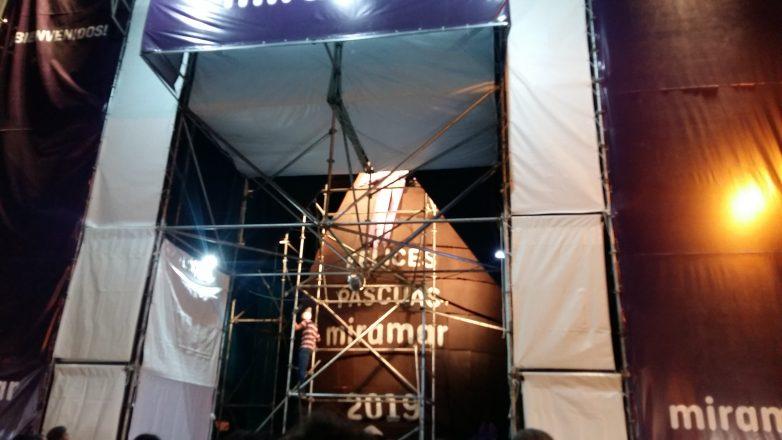 Miramar: el huevo de Pascua mide 10,51 metros, y es récord mundial.