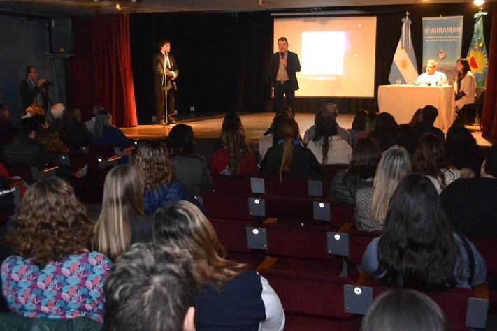Miramar: Se presentó el Programa Municipal Primeros Pasos