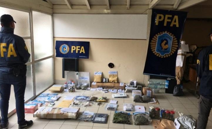 Detuvieron a 10 narcos en Mar del Plata: tenían más de 9 mil dosis de marihuana y cocaína