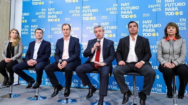 Alberto Fernández: «Cuando critico a Macri me responde el FMI»
