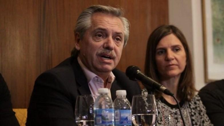 """Alberto Fernández: """"Si quieren más ajuste y pobreza voten a Macri.»"""