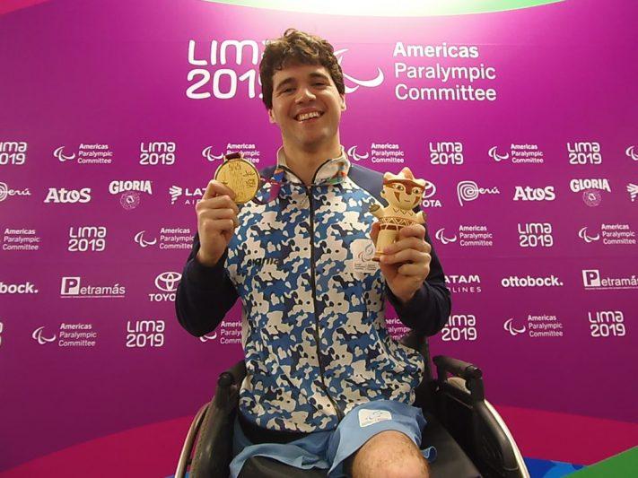 Lima 2019: De Andrade es oro en el parapanamericano