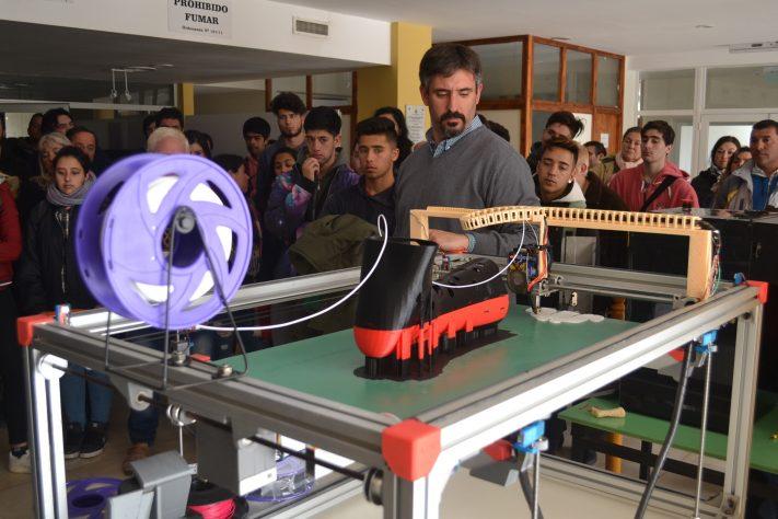 Miramar: se presentó la Impresora 3D