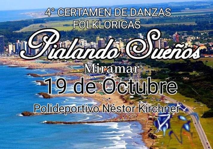 Miramar: este sábado se viene la 4° edición de Danzas Flokloricas