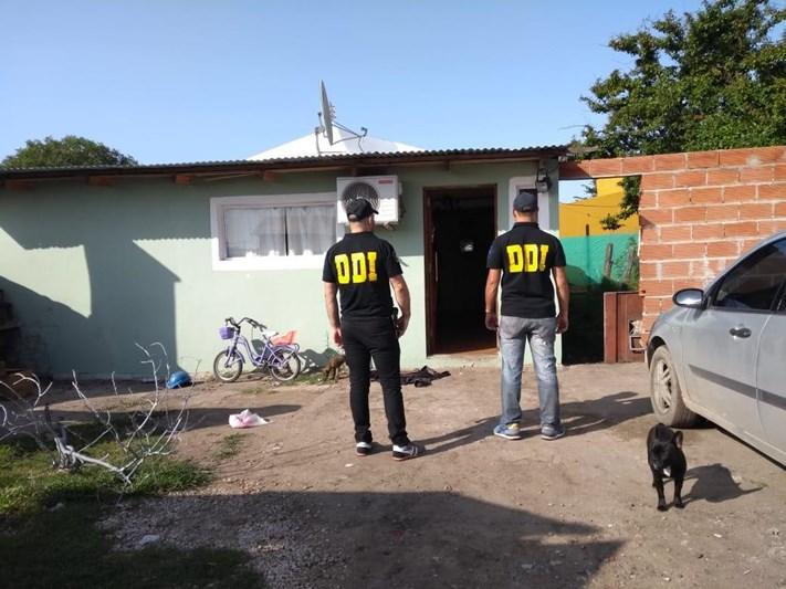 Miramar: secuestro de droga, municiones y elementos robados