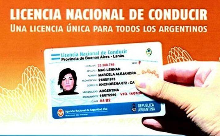 Licencias de conducir: prorrogan los vencimientos por un año