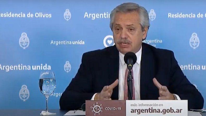 Alberto Fernández anunciará una nueva cuarentena
