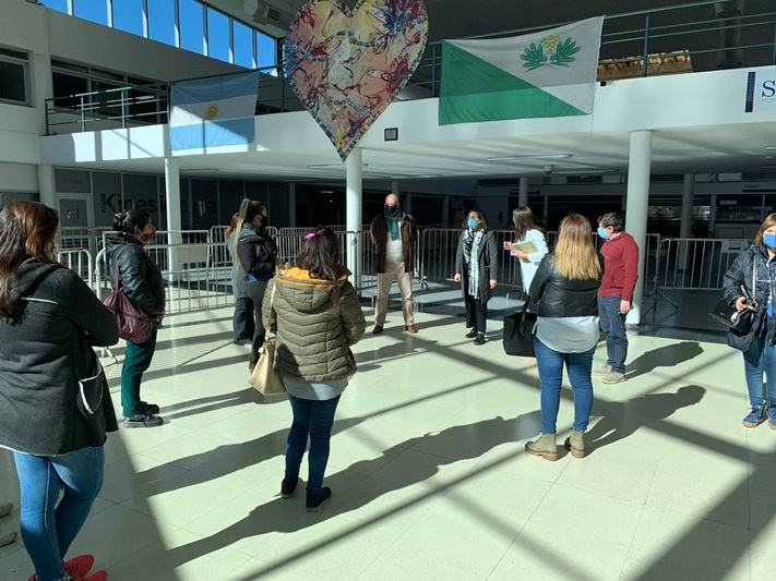 """La Universidad Nacional de San Isidro """"Scalabrini Ortiz"""" al servicio de la comunidad en la pandemia de COVID19"""